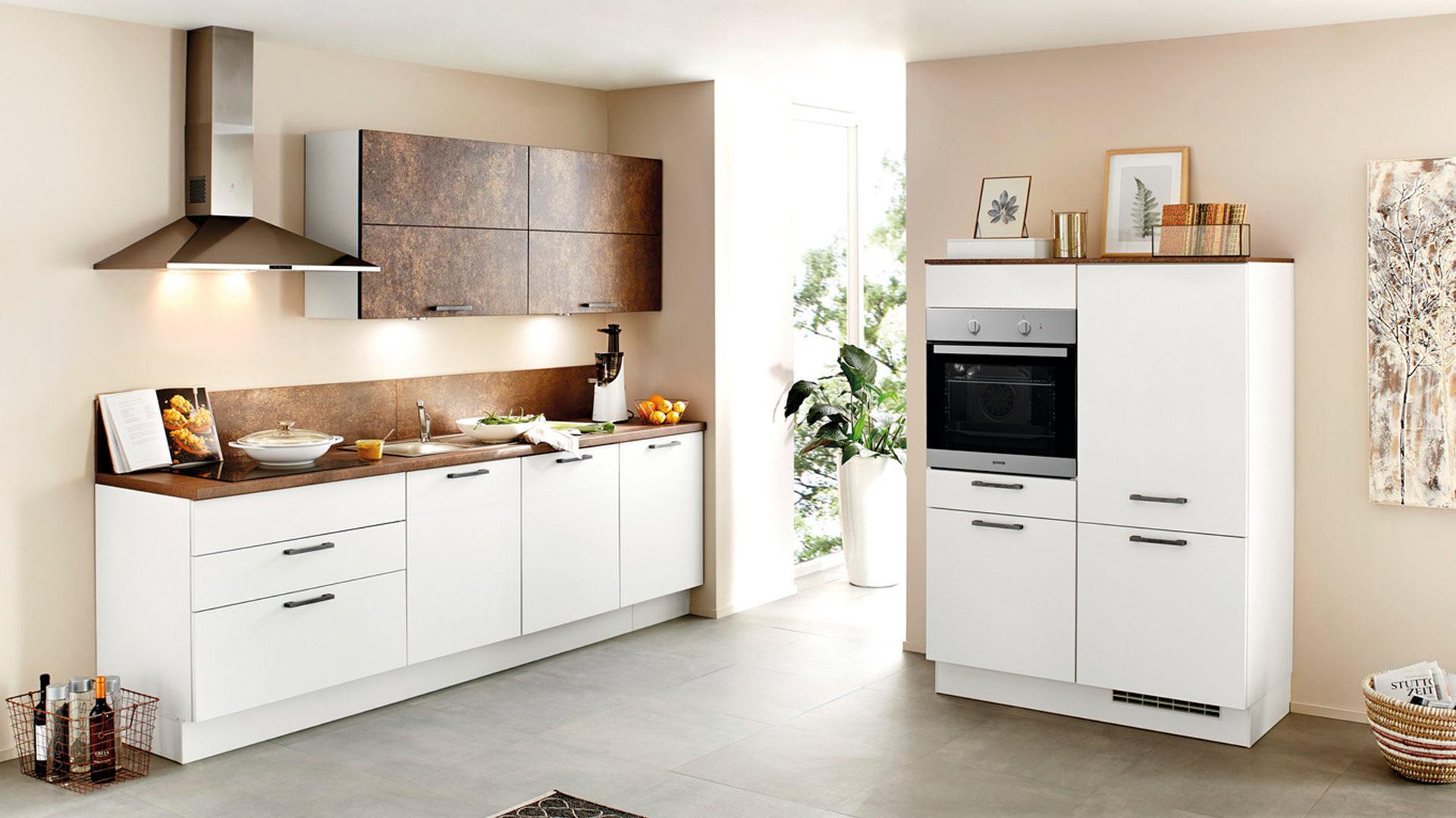 Gorenje Kühlschrank Weiß : Einbauküche mit gorenje elektrogeräten wie kühlschrank etc weiße