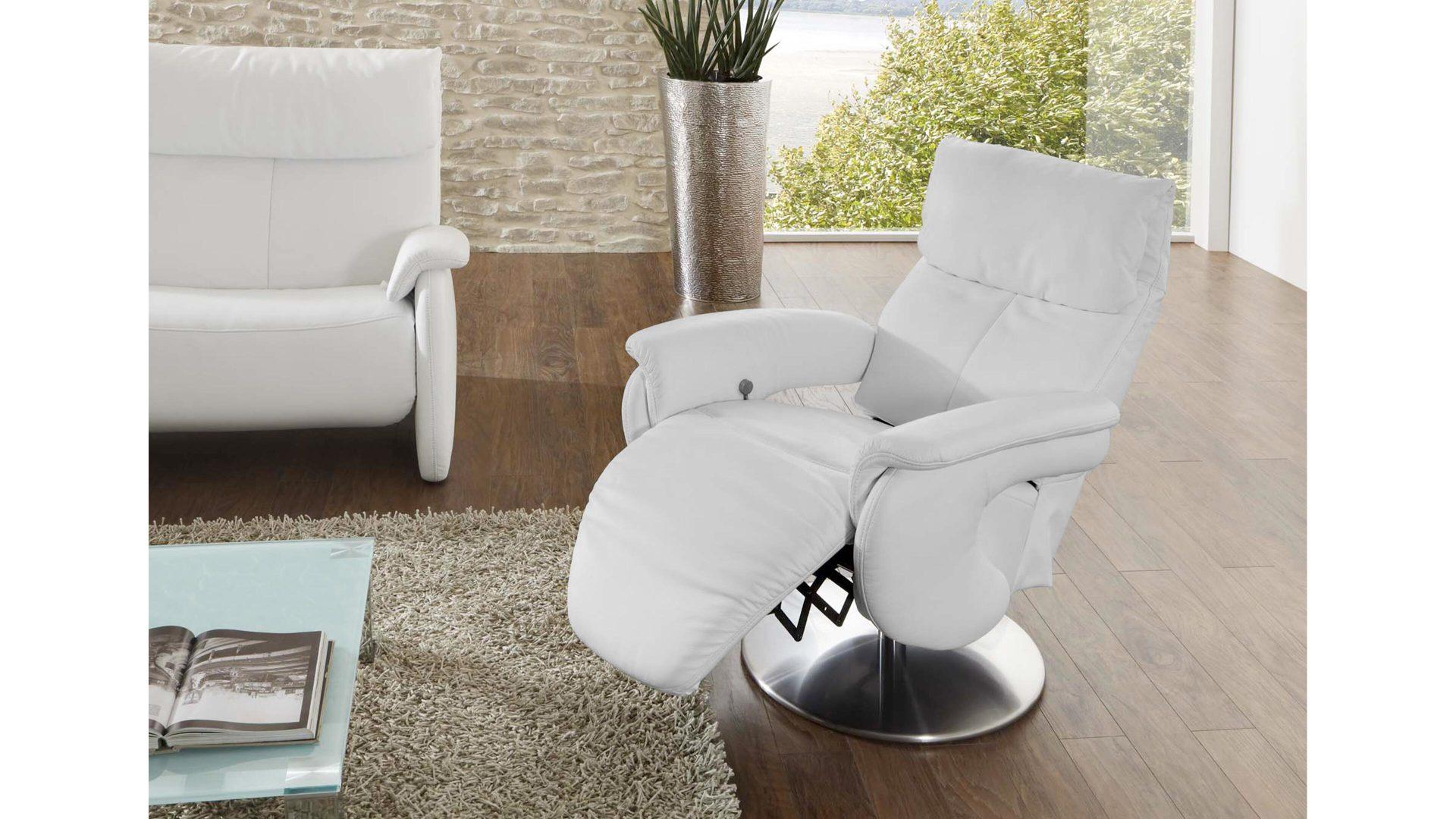 Comfortmaster Easy Swing Sessel 7333 Als Sitzmöbel Schneeweißes
