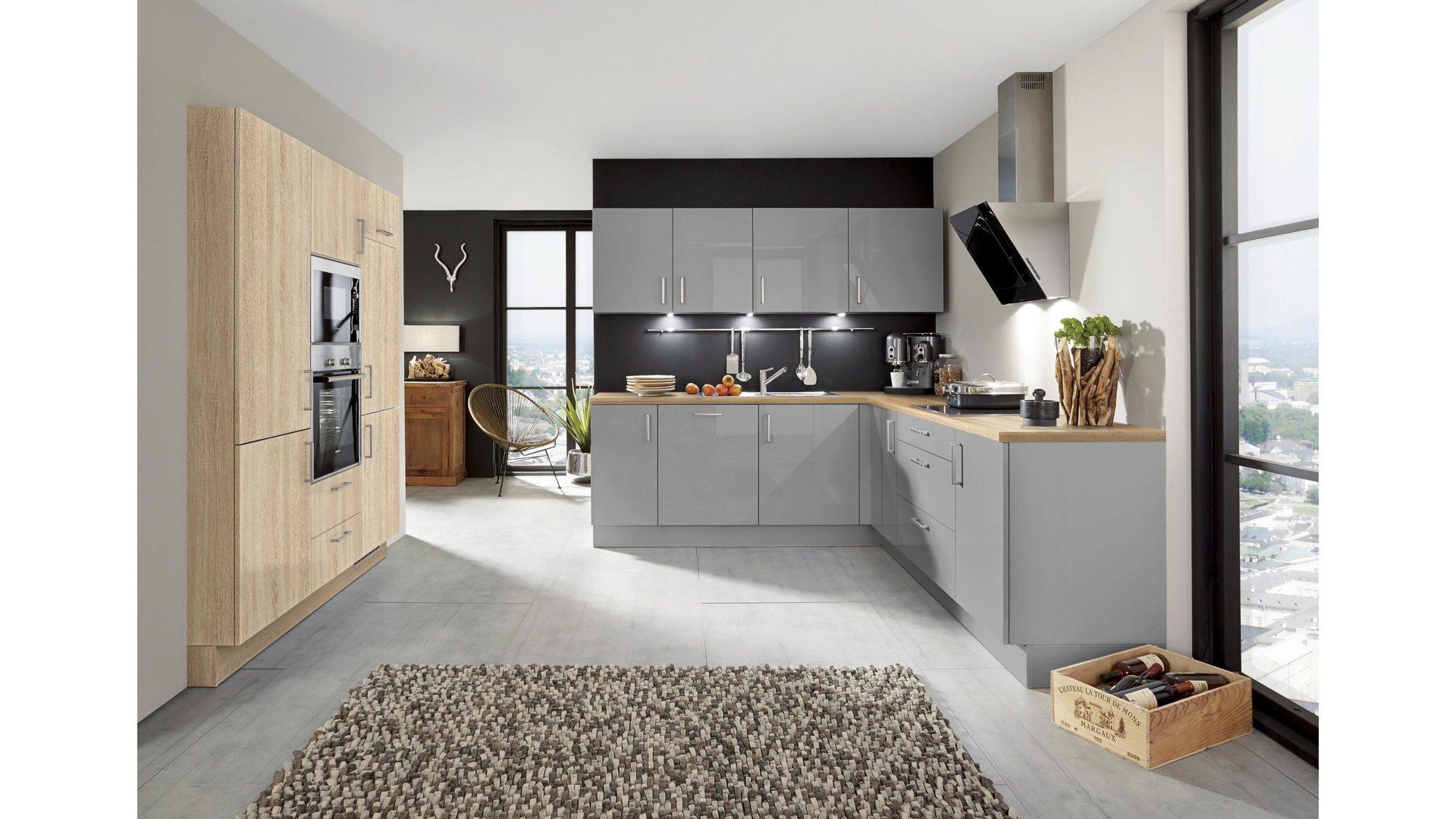 Siemens Kühlschrank Schwarz : Einbauküche mit siemens elektrogeräten wie kühlschrank etc