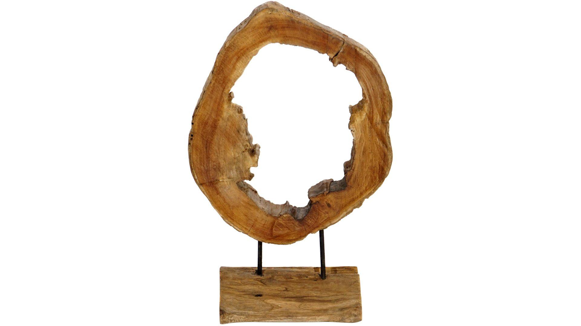 Ploß Treibholzfigur Ring auf Holzfu...