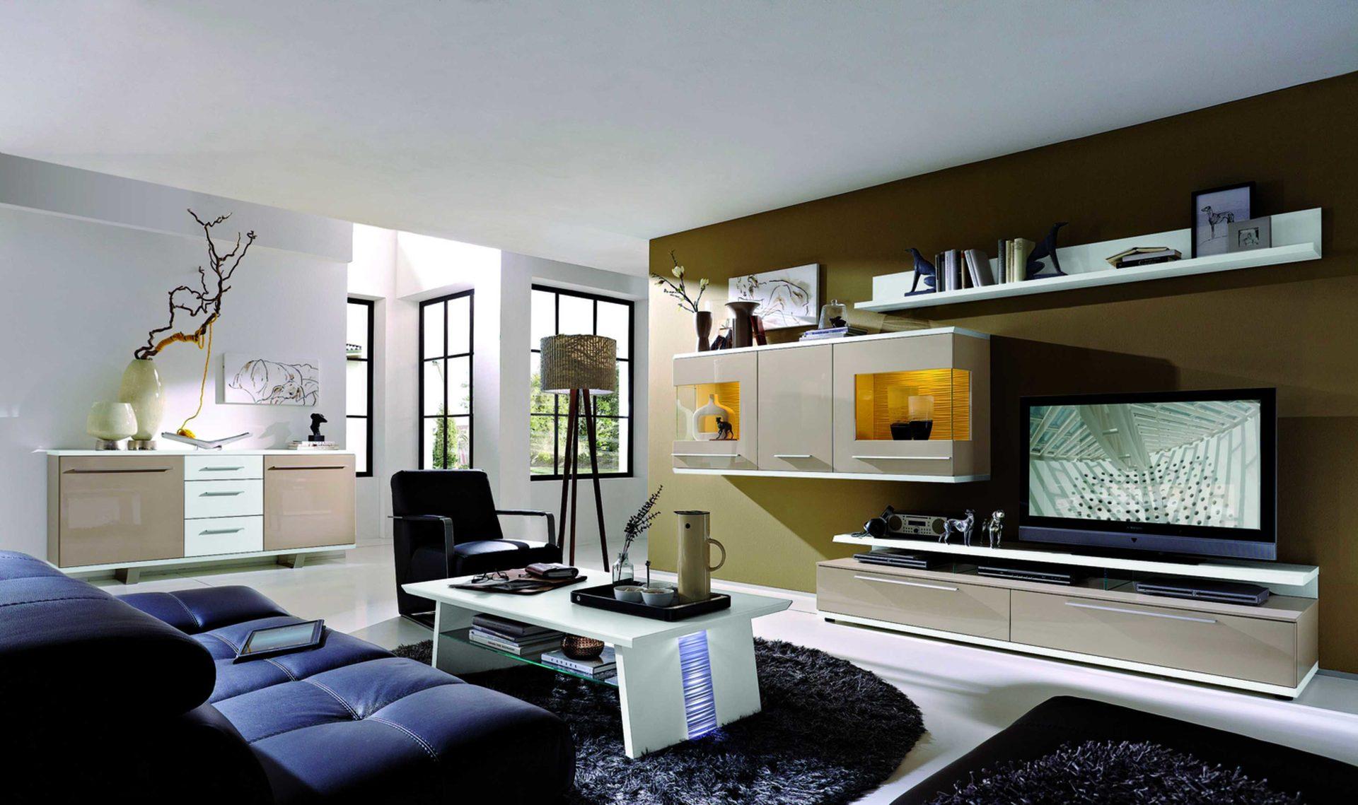 Wohnwand Holz Weie ~ Die weiße wohnwand in hochglanz u ein lifestyle möbelstück