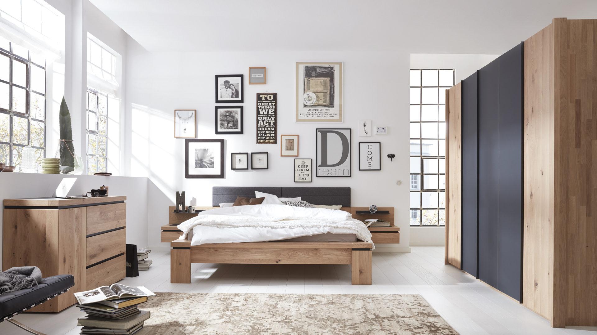 Interliving Schlafzimmer Serie 1005 – Schlafzimmerkombination ...