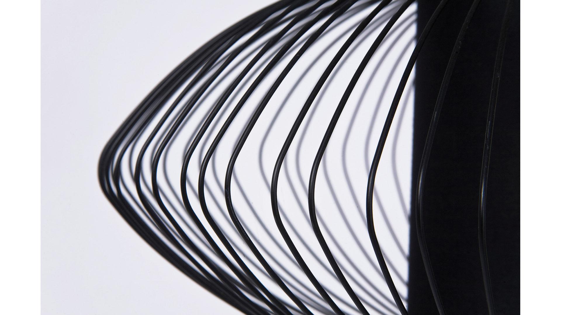 Schwarzer Stahl möbel steffens lamstedt kare design hängeleuchte swing iron in