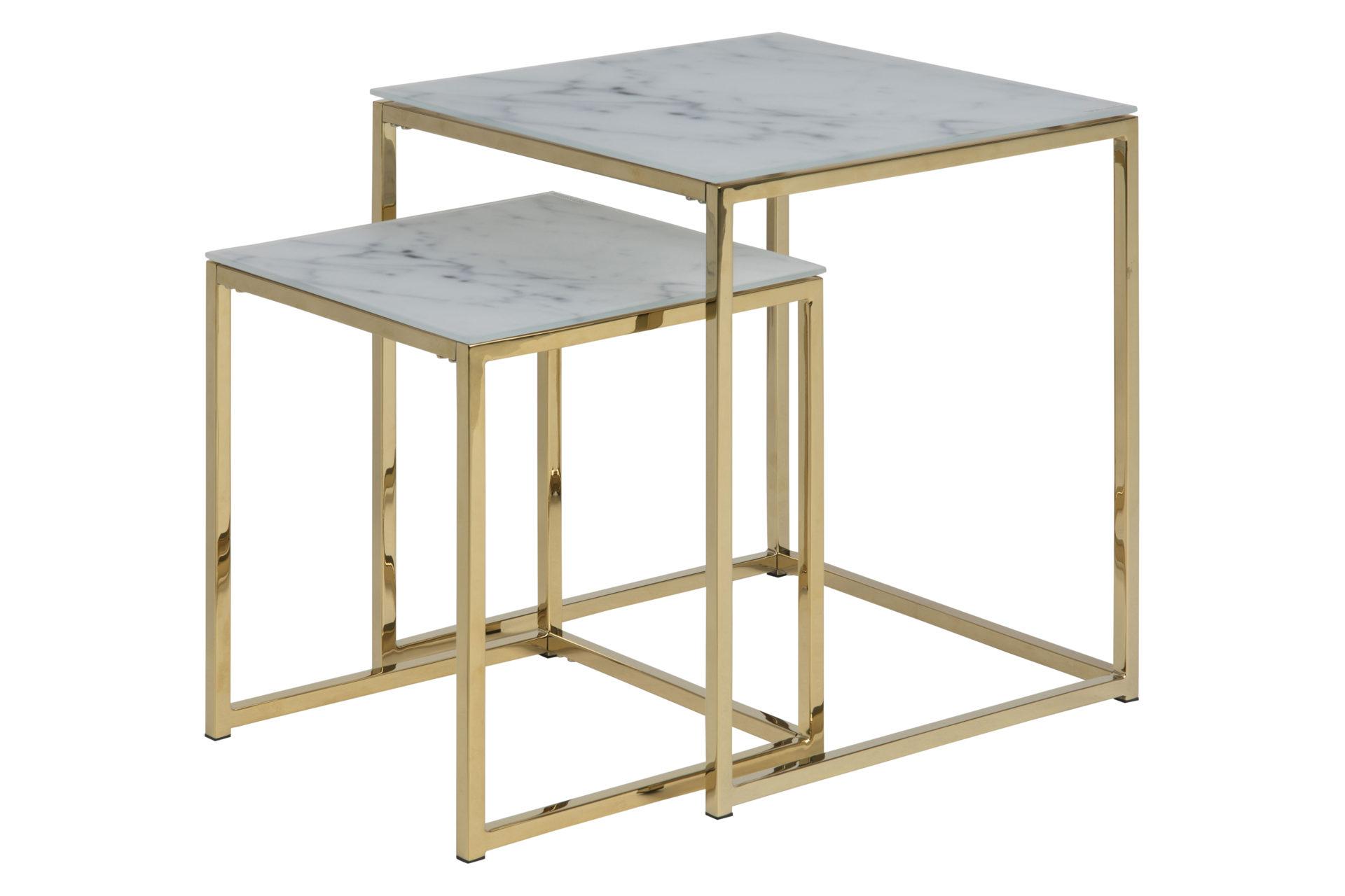 Zwei-Satz-Tisch bzw. Wohnzimmertisc...