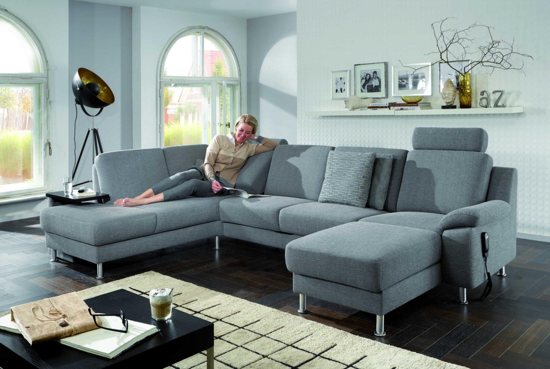 Couch In U Form. Great Neu Statt Sofa Couch Uform In Gommersheim ...