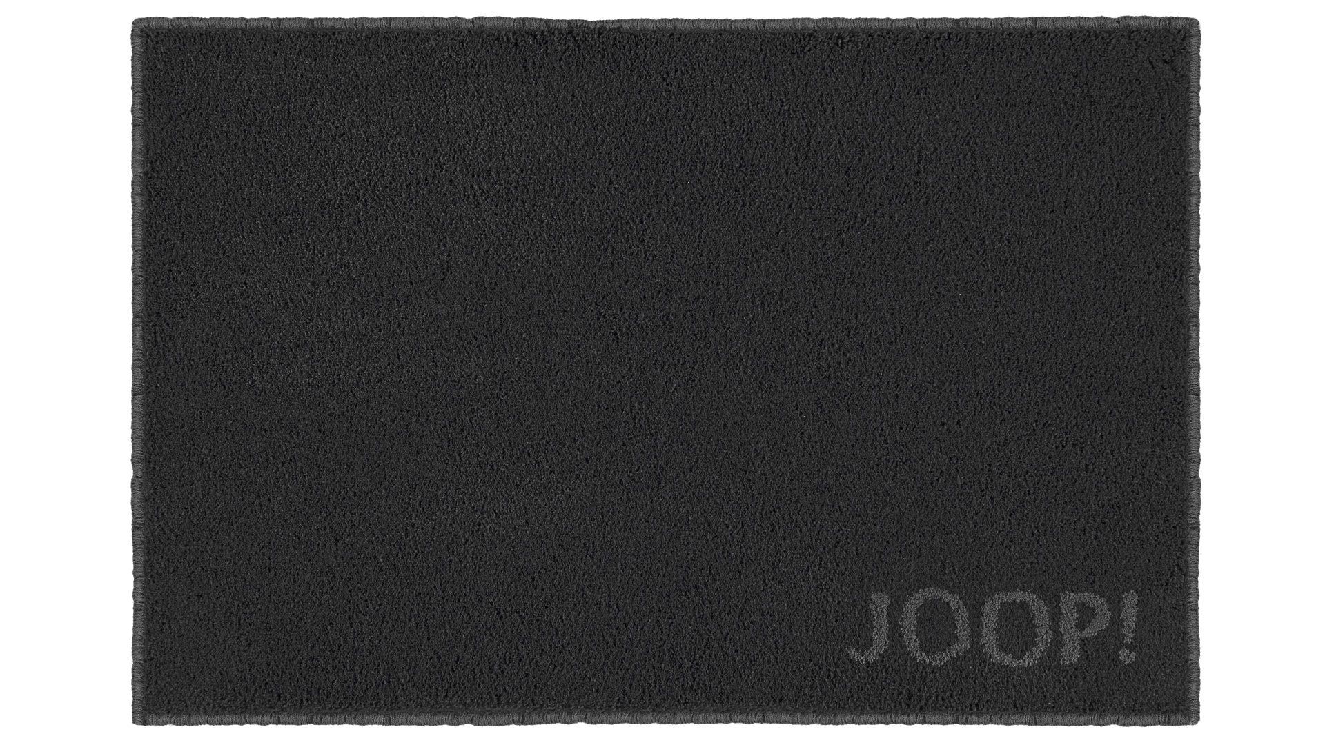 Joop Badematte Classic Schwarze Kunstfaser Ca 50 X 60 Cm