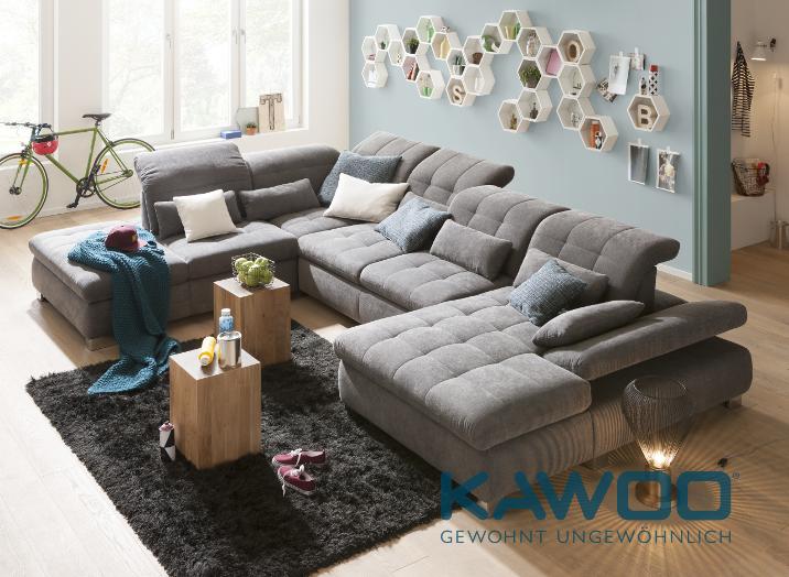 Wohnzimmer Kawoo Quadratischer Relaxsessel Polsterhocker